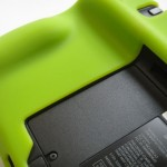 eForCity Silicone Skin Case, back detail